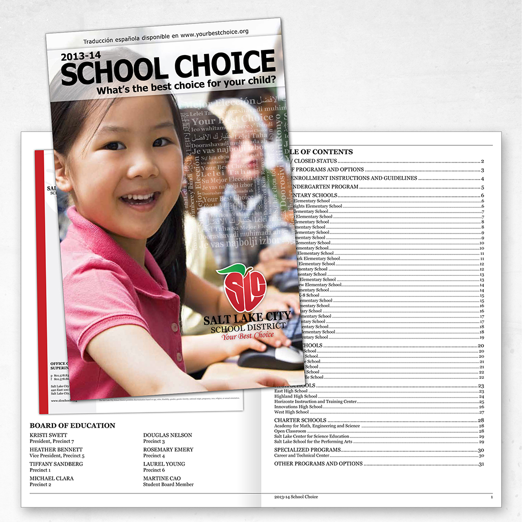 School Choice Catalog Campaign