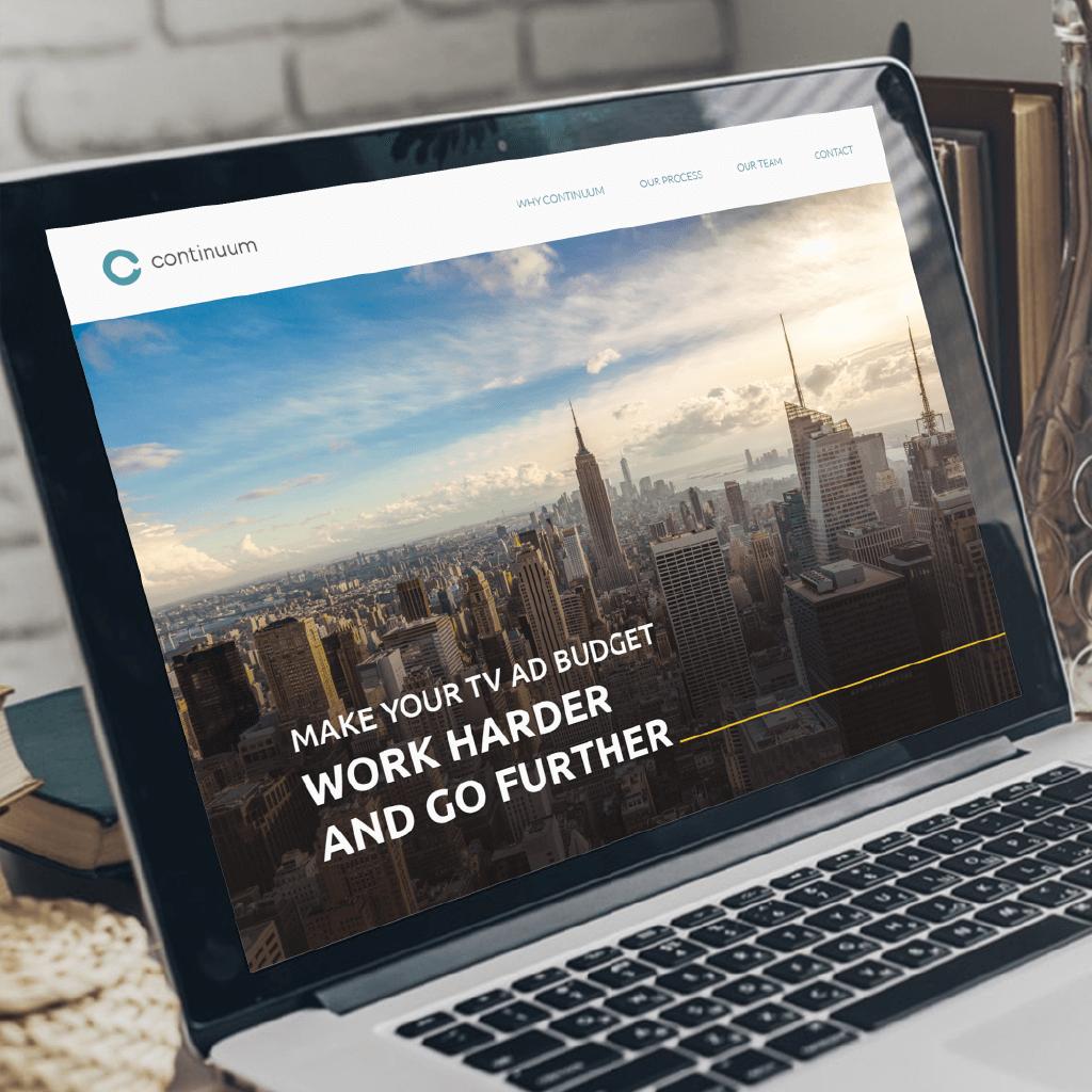 Continuum Identity and Website